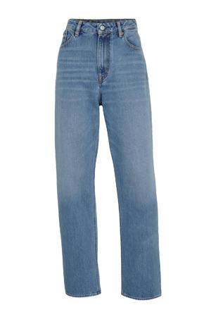 high waist straight fit jeans ALICE van biologisch katoen 5037 vintage light blue