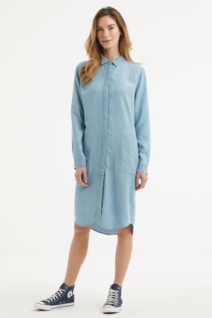 blousejurk PRISCILLA lichtblauw