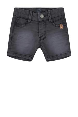 regular fit jeans bermuda antraciet