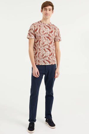T-shirt met all over print Dark Bloody Mary