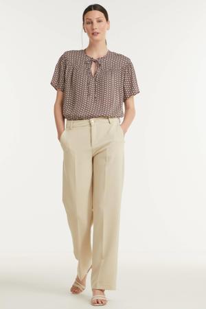 bootcut pantalon Chiara beige