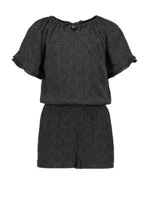 jumpsuit Sweety met stippen zwart/wit