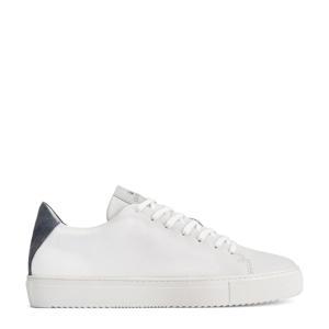 Jason  leren sneakers wit/grijs