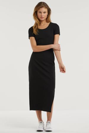 midi jurk zwart