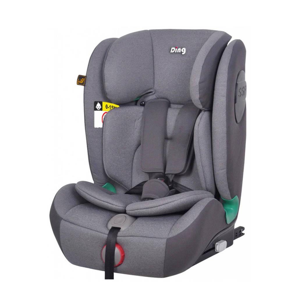 Ding I-Size autostoel York Isofix/top tether 9-36kg Grijs