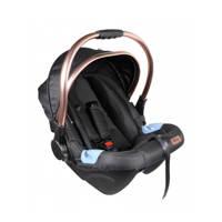 Ding autostoel Fenix 0-13kg Zwart/Roze, Zwart/roze