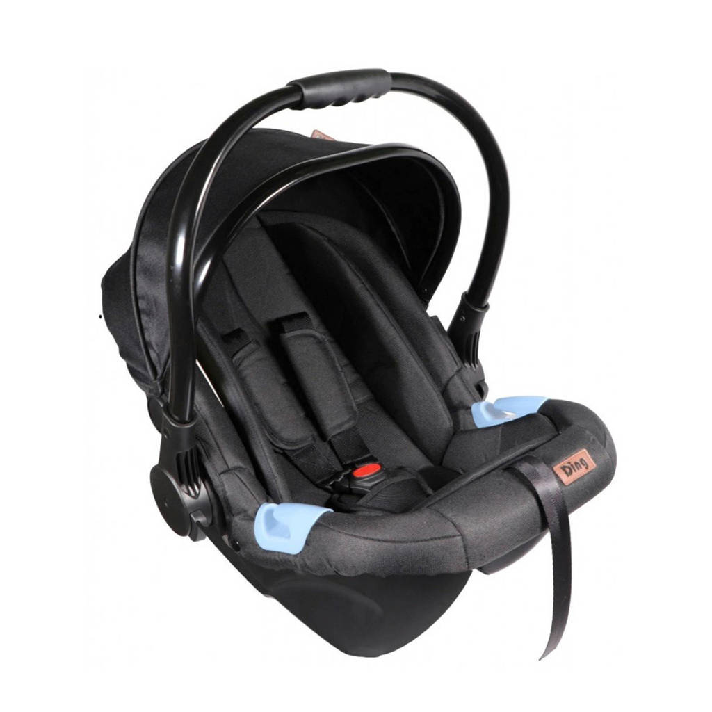 Ding autostoel Fenix 0-13kg Zwart/Zwart
