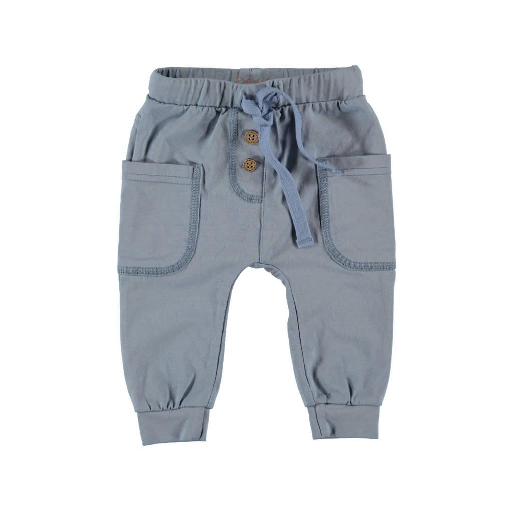 B.E.S.S regular fit broek lichtblauw, Lichtblauw