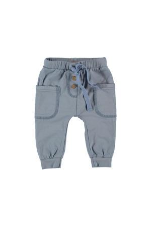 B.E.S.S regular fit broek lichtblauw