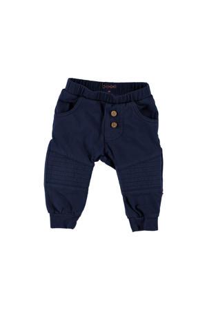 B.E.S.S regular fit broek donkerblauw