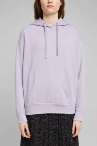 edc Women hoodie met biologisch katoen lila, Lila