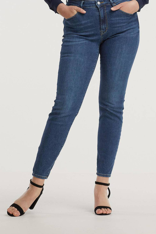 ESPRIT Curvy skinny jeans dark denim, Dark denim