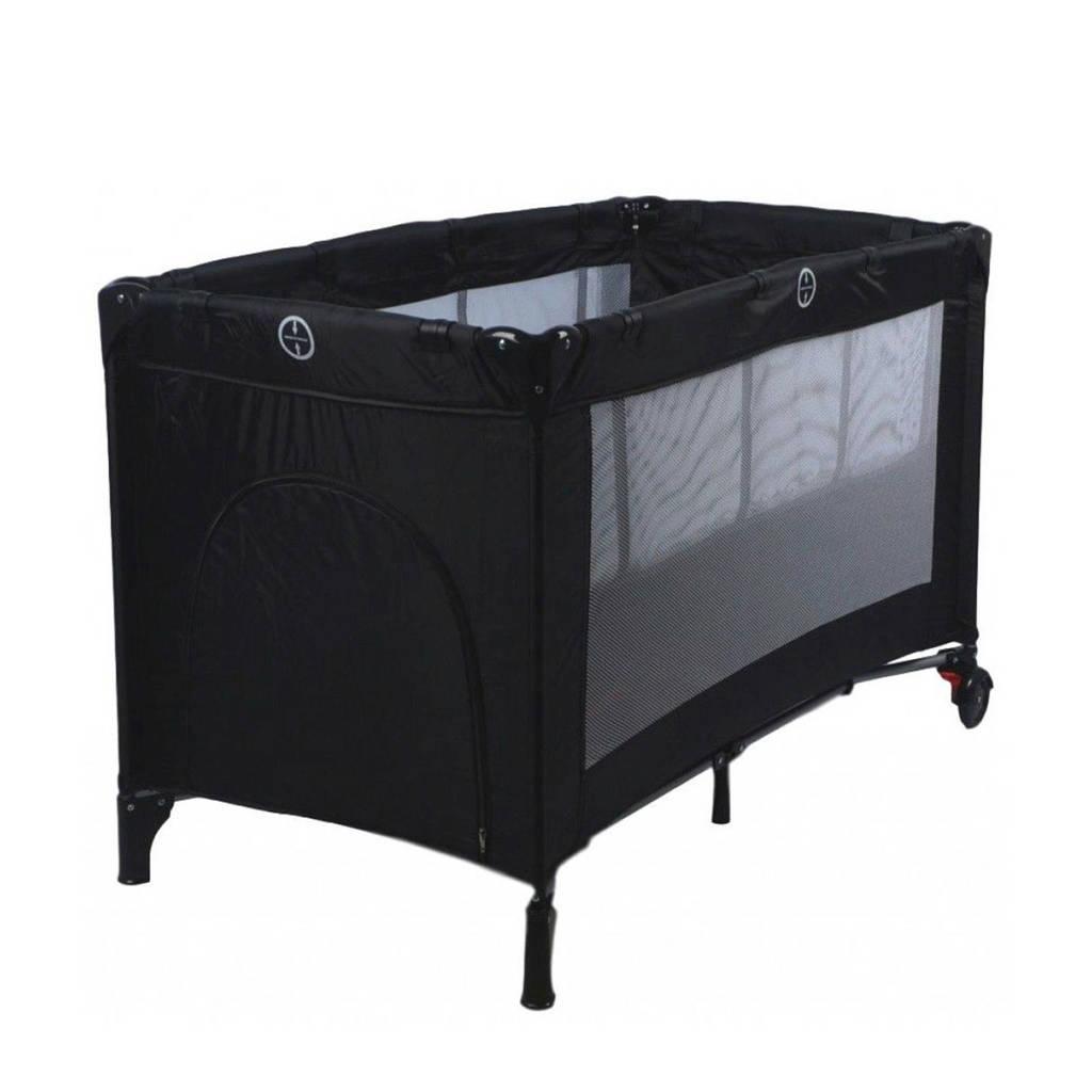 Ding Deluxe campingbed - Black, Zwart
