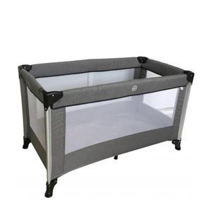 campingbed Stripe - Grey melange