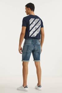 Purewhite slim fit jeans short The Miles W0628 000088 - denim green/blue, 000088 - Denim Green/Blue