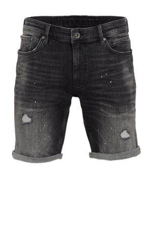 slim fit jeans short The Steve W0626 denim dark grey
