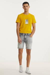 Purewhite skinny jeans short The Steve W0627 000085 - denim light grey, 000085 - Denim Light Grey