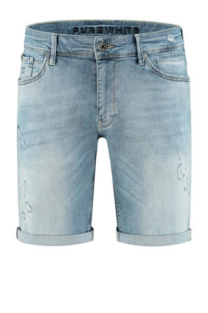 skinny short The Steve W0638 000082 - denim light blue