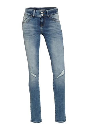 slim fit jeans Molly M 53246 earth blue