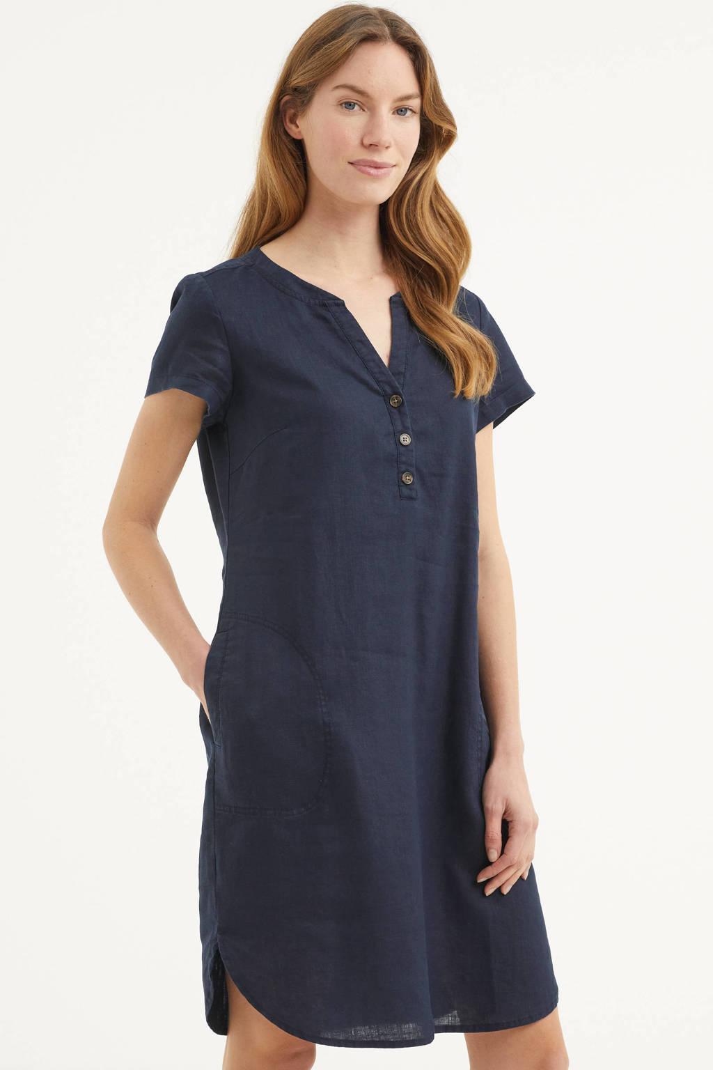 Part Two jurk Aminass donkerblauw, Donkerblauw