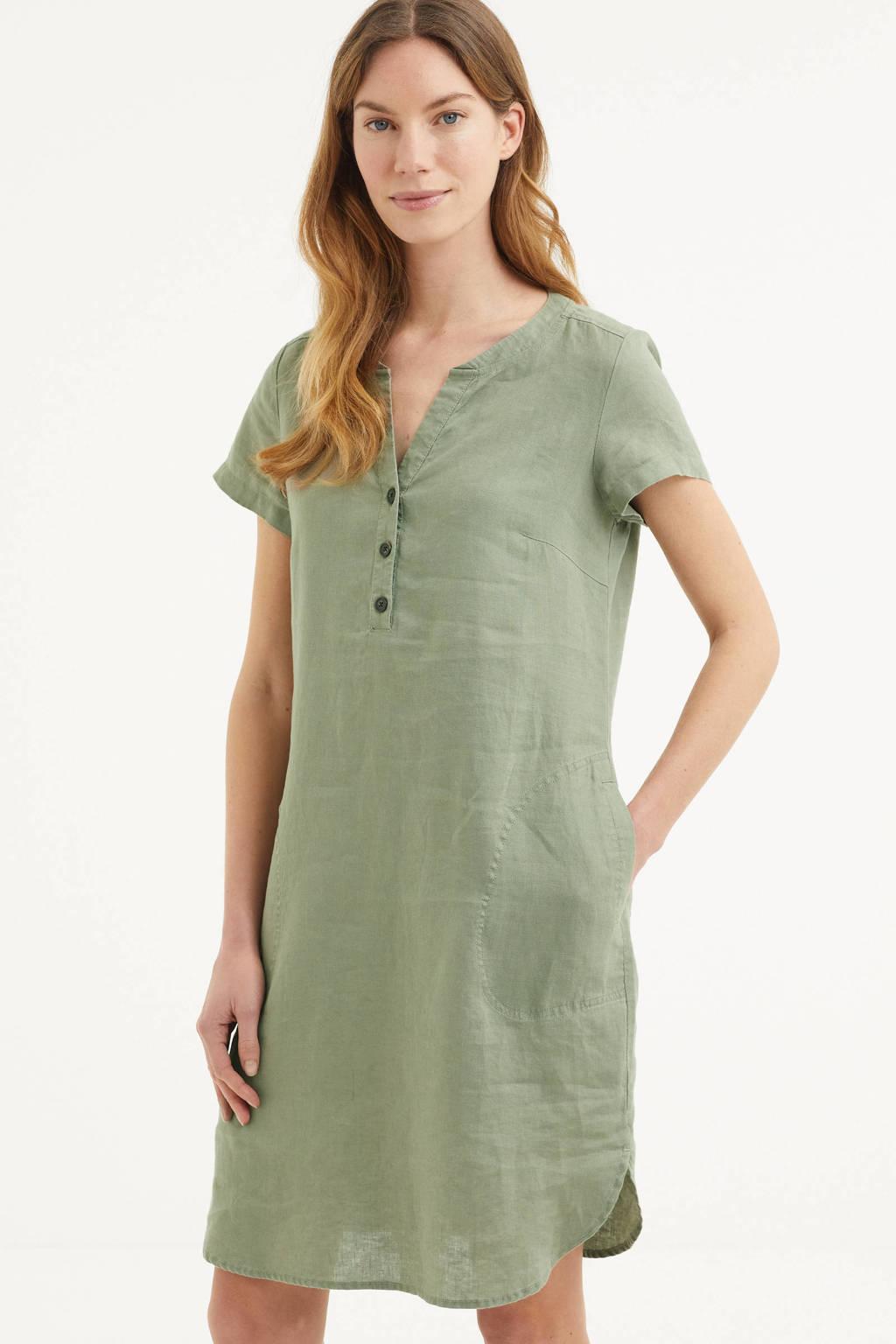 Part Two jurk Aminass mintgroen, Mintgroen