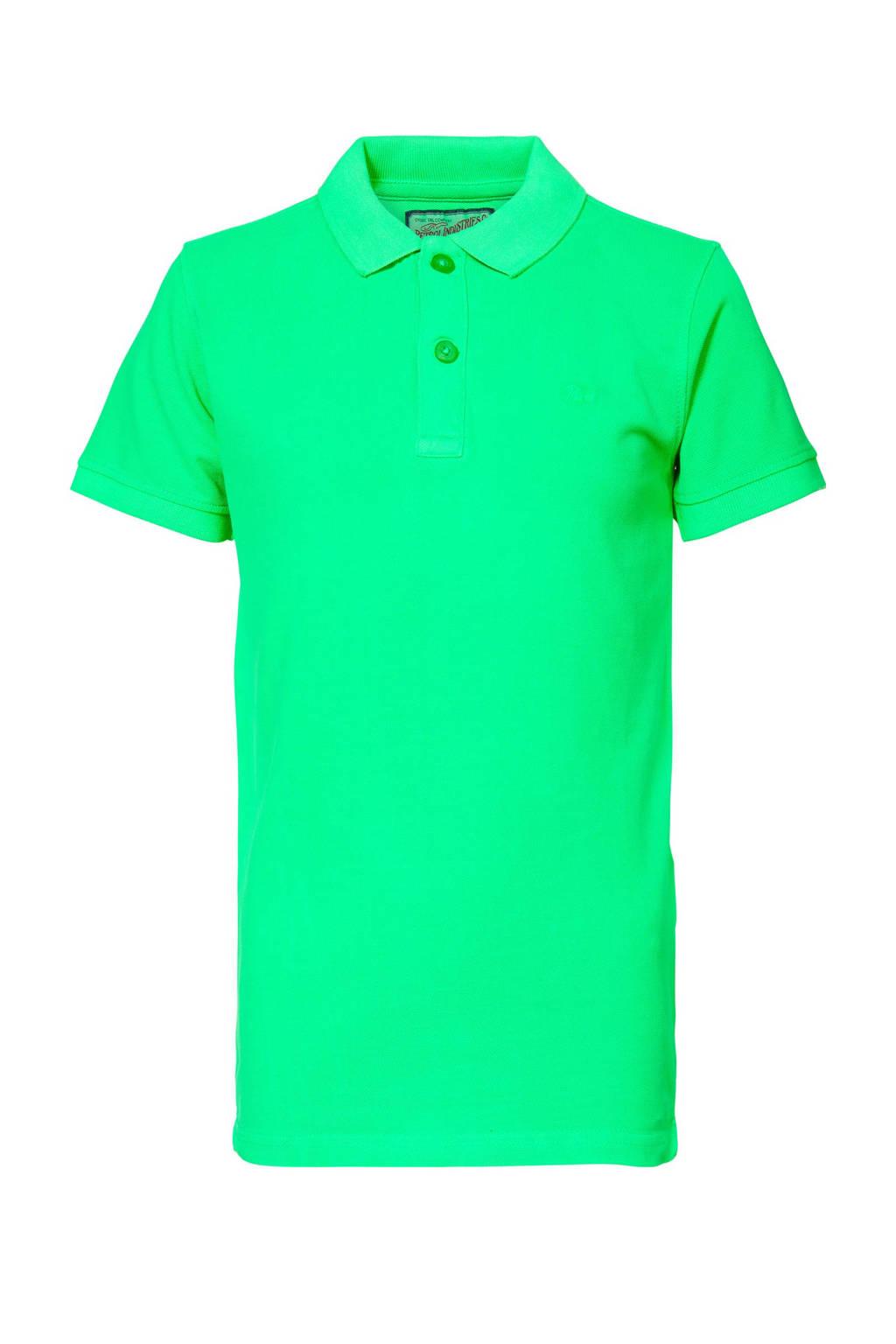 Petrol Industries polo neon groen, Neon groen