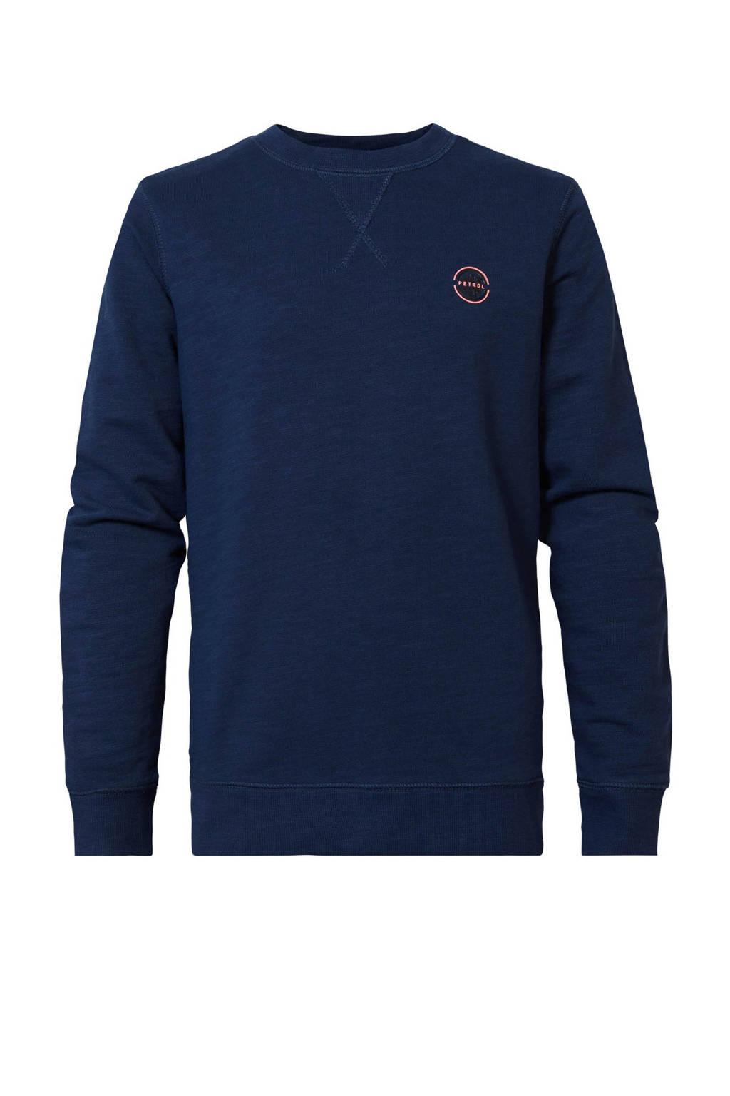 Petrol Industries sweater donkerblauw, Donkerblauw