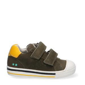 Filip Ferm  leren sneakers donkergroen
