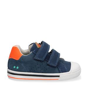 Filip Ferm  leren sneakers donkerblauw