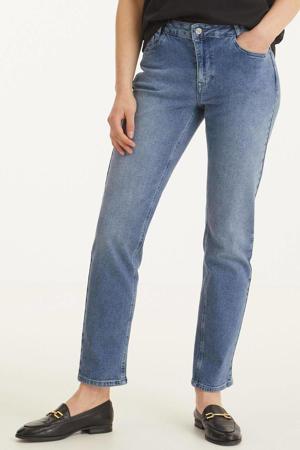 high waist regular fit jeans DHElly High Custom light blue retro wash