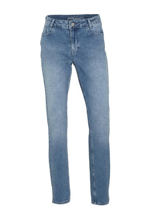 high waist regular fit jeans DHElly High Custom light blue retro wash