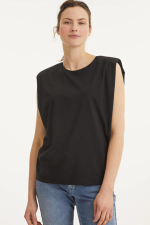 T-shirt DHGry T-shirt van biologisch katoen zwart