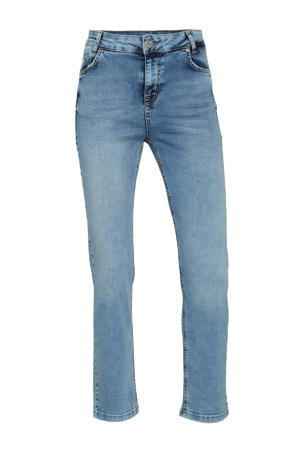 cropped high waist straight fit jeans DHCelina High Straight Custom 100045 light blue wash