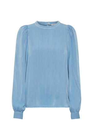 blouse DHCosmo Puff  Blouse blauw