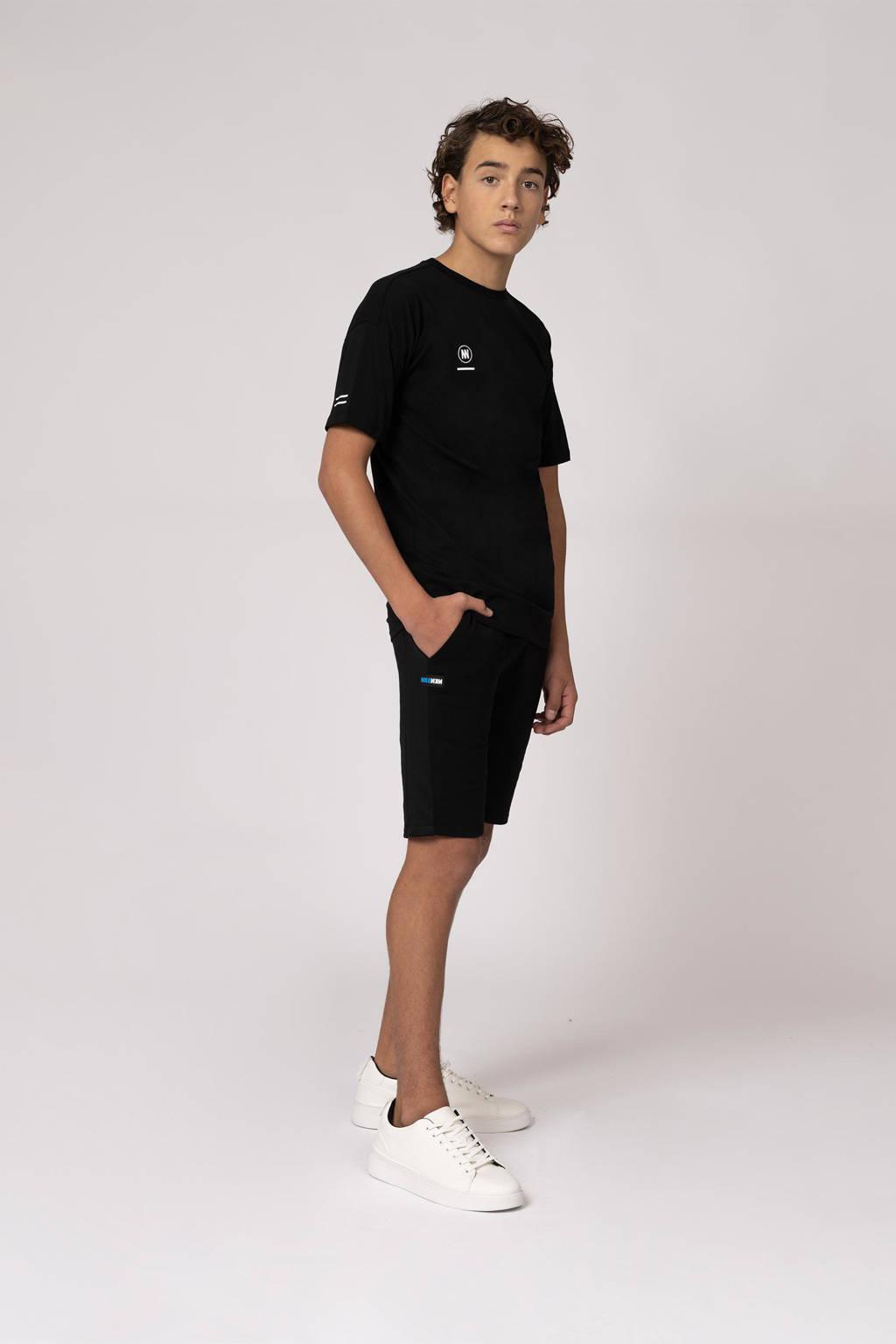 NIK&NIK sweatshort Rik zwart, Zwart