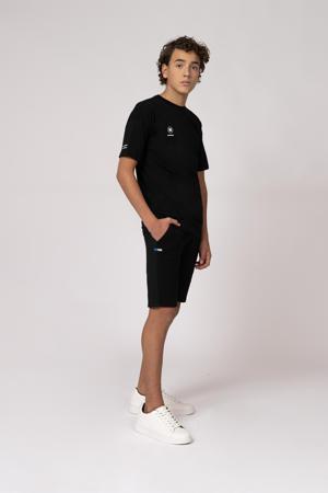 sweatshort Rik zwart
