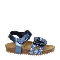 Nelson Kids   sandalen met glitters blauw, Blauw