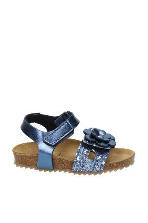 sandalen met glitters blauw