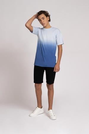 dip-dye T-shirt Raf blauw/lichtblauw