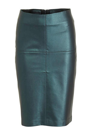 coated rok groenblauw metallic