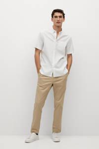 Mango Man regular fit overhemd wit, Wit