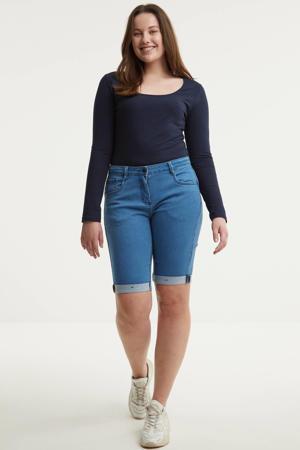 jeans short STEP  dew blue wash