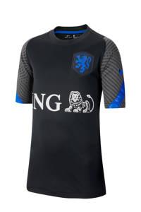 Nike Junior Nederland voetbalshirt zwart/grijs/blauw, Zwart/grijs/blauw