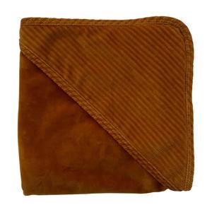 wikkeldoek corduroy 80x80 cm bruin