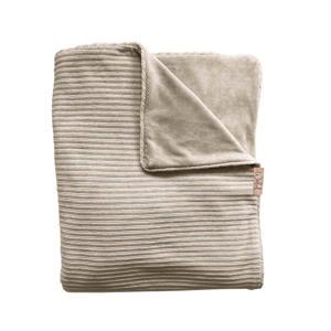 Tuck-Inn baby wieg/Maxi-Cosi deken corduroy 40x80 cm sand