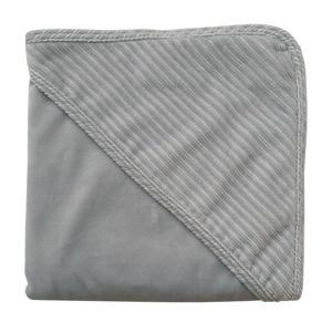 wikkeldoek corduroy 80x80 cm grijs