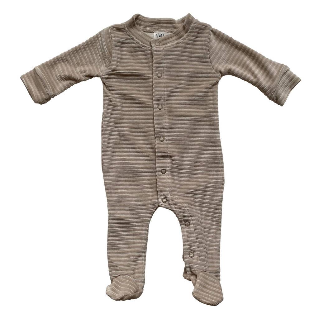 Witlof for kids baby corduroy boxpak zand, Zand