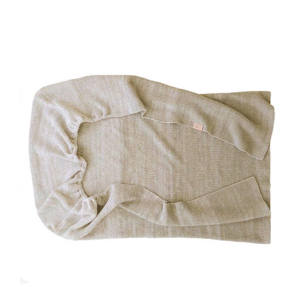 Witlof for kids Tuck-Inn baby wieg/Maxi-Cosi deken Ombre 40x80 cm  zand, Beige