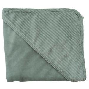 wikkeldoek corduroy 80x80 cm groen