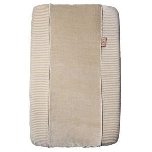 aankleedkussenhoes corduroy beige/zand